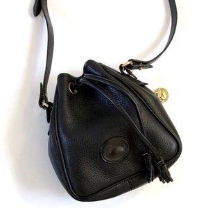 Authentic Dooney & Bourke Mini Slim Drawstring Bag